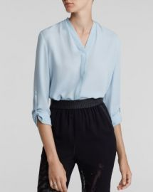 Elie Tahari Anabella Silk Blouse at Bloomingdales