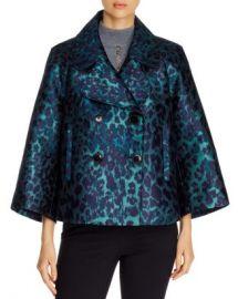 Elie Tahari Edna Leopard Jacquard Jacket Women - Bloomingdale s at Bloomingdales