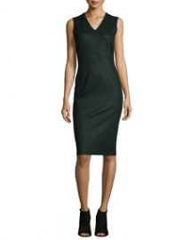 Elie Tahari Gigi Sleeveless Sheath Dress at Neiman Marcus