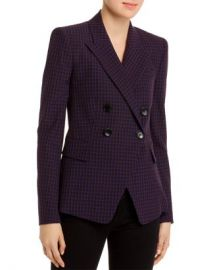 Elie Tahari Jezebel Modern Plaid Blazer Women - Bloomingdale s at Bloomingdales