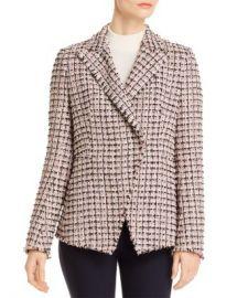 Elie Tahari Jezebel Tweed Blazer Women - Bloomingdale s at Bloomingdales