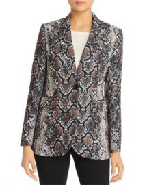 Elie Tahari Jovanna Snakeskin Print Blazer - 100  Exclusive Women - Bloomingdale s at Bloomingdales