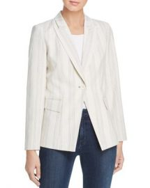 Elie Tahari Kiersten Striped One-Button Blazer Women - Bloomingdale s at Bloomingdales