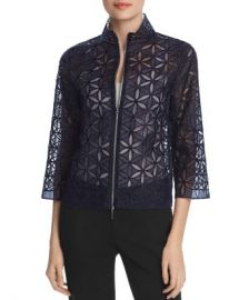Elie Tahari Rainer Silk Floral Lace Jacket Women - Bloomingdale s at Bloomingdales