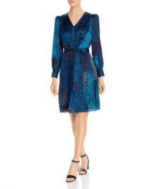 Elie Tahari Silk Leopard Patchwork Print Dress - 100  Exclusive Women - Bloomingdale s at Bloomingdales