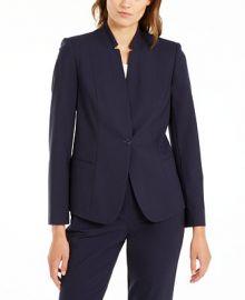 Elie Tahari Tori Star-Collar Blazer   Reviews - Jackets   Blazers - Women - Macy s at Macys