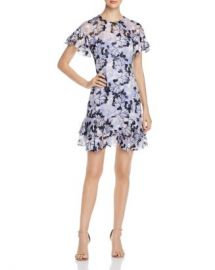 Elie Tahari Yonica Floral-Burnout Dress   Women - Bloomingdale s at Bloomingdales