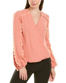 Elisabetta Franchi Womens Top  38  Pink at Amazon