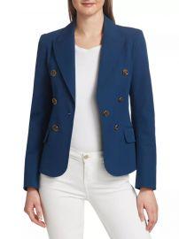 Eliza Double-Breasted Jacket by Derek Lam 10 Crosby at Saks Fifth Avenue