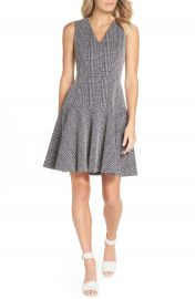 Eliza J Sleeveless Fit  amp  Flare Dress at Nordstrom
