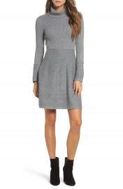 Eliza J Turtleneck Sweater Dress at Nordstrom