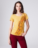 Eliza peacock tee by Lucky Brand at Lucky Brand