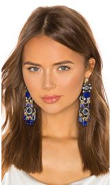 Elizabeth Cole Tutti Earrings in Blue from Revolve com at Revolve