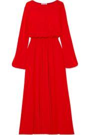 Elizabeth and James   Evy stretch-crepe maxi dress at Net A Porter