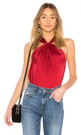 Elizabeth and James Blaine Top in Ruby from Revolve com at Revolve