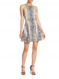 Elizabeth and James Clarissa Printed Fit-and-Flare Dress at Saks Fifth Avenue