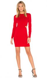 Elizabeth and James Railey Cut Out Dress in Vermillion from Revolve com at Revolve