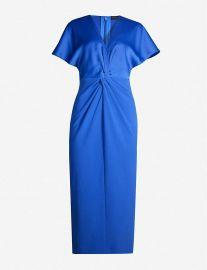 Ellame wrap-waist crepe dress at Selfridges