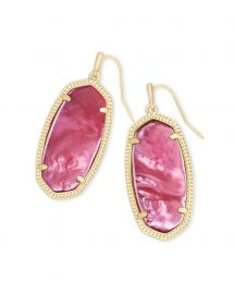 Elle Drop Earrings in Berry Illusion at Kendra Scott