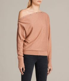Elle Sweater in Pink at All Saints