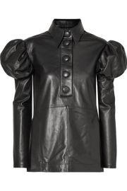 Ellery - Breuer leather shirt at Net A Porter