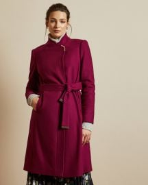 Ellgenc Wrap Coat by Ted Baker at Ted Baker