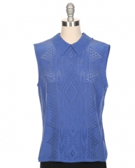 Elliot Laser Cut Top by Equipment at Ron Herman