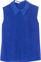Elliot laser cut top by Equipment at The Outnet