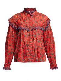 Elmira floral-print cotton blouse by Isabel Marant Etoile at Matches