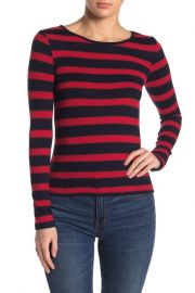 Elodie Striped pullover sweater at Nordstrom Rack