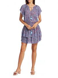 Elsa Layered Mini Dress at Saks Fifth Avenue