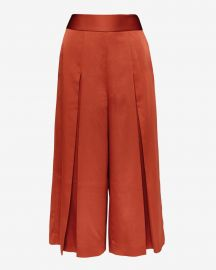 Elsbeta Pleated Culottes by Ted Baker at Ted Baker