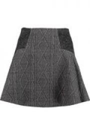Elsie jacquard mini skirt at The Outnet