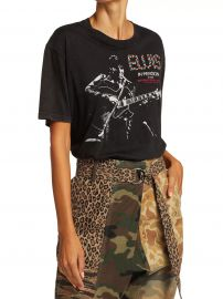 Elvis In Person Aged Graphic T-shirt at Saks Fifth Avenue