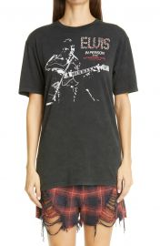 Elvis In Person Graphic Cotton Tee at Nordstrom