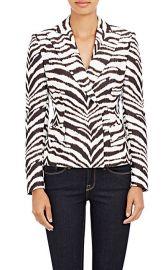 Emanuel Ungaro Zebra Jacket at Barneys Warehouse