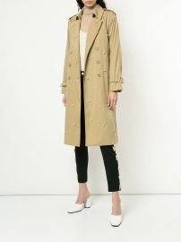 Embellished Trench Coat at Farfetch