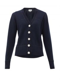 Embellished Cashmere Cardigan by Ganni at Matches