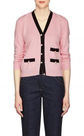 Embellished Knit Cashmere Cardigan at Barneys