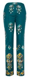 Embellished Pants at Oscar de la Renta