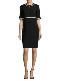 Embellished Sheath Dress by Karl Lagerfeld Paris at Saks Off 5th