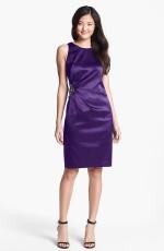Embellished Side Ruched Dress by Eliza J at Nordstrom