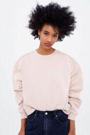 Embellished Sweatshirt by Zara at Zara