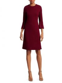 Embellished Wool-Blend Tunic Dress at Saks Fifth Avenue