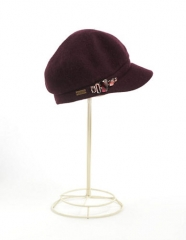 Embellished cap by Betmar at Lord & Taylor