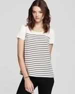 Embellished collar top by Madison Marcus at Saks Fifth Avenue