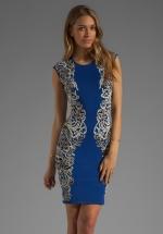 Embellished dress by bcbgmaxazria at Revolve