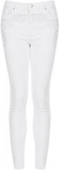 Embellished white jeans at Topshop