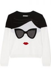 Embellished wool sweater at The Outnet