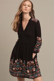 Embroidered Avery Dress by Floreat at Anthropologie